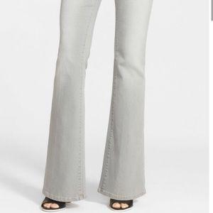 Frame Denim Le High Flare Gray Jeans